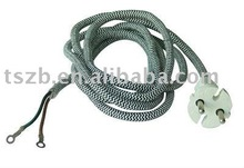 braided electric power cord