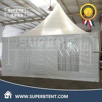 5x5m pop up tent and cold weather tents with decorative linings for sale