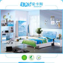 minimalist children/kids/baby bedroom set 8356