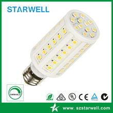 7W E27 Led Corn Light With 2 Years Warranty And 360 Degree Beam Angle / Viewing Angle