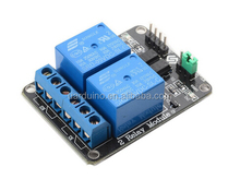 Stock! 2 Channel 5V relay expansion board Relay 5V Module with optocoupler protection