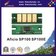 (TY-R100) compatible toner cartridge reset chip for Ricoh Aficio SP100 SP100E SP 100 1.2K pages bk