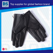 2014 dubai importers of leather working gloves for woman
