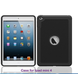 OEM service manufacture professional football skin fashion case for iPad mini 4 kids shockproof tablet case