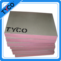 extruded polystyrene foam board xps coated with fiberglass cement wall and floor use