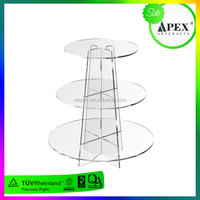 factory supply plastic cake pop stand/wedding cake stands plastic/plastic cupcake stand tiers