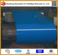 most popular color coated galvanized coil, blue steel scrap