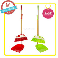 SY3717 Smart cleaning Tools and Accessories plastic broom dustpan sets