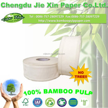 High quality Bamboo Jumbo roll tissue toilet paper