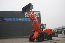 Front end loader SZM 932L 2 ton rated load with weichai engine and hydraulic transmission