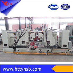 Electric water heater making machine three pieces assembling equipment