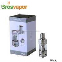 SMOK Black and Silver TFV4 Mini/TFV4 Mini Tank/TFV 4 Mini Sub Ohm Tank Wholesale in Alibaba Express with high quality