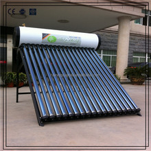 200L heat pipe pressurized solar water heater with CE/CCC/ISO