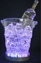 IR Remote Controlled Multicolor Ice Bucket Light For Bar