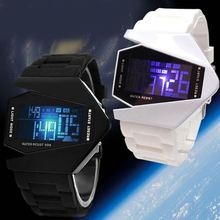 2015 plane led watch Promotional factory cheap digital led watch with waterproof and mix colors