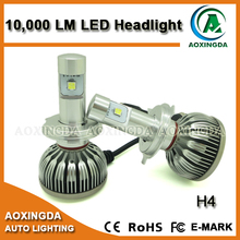 3S CREE XHP 50 80W 10000LM super bright CANBUS LED headlight H4