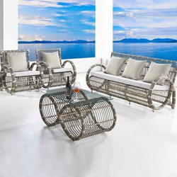 resin wicker patio furniture new model sofa sets pictures