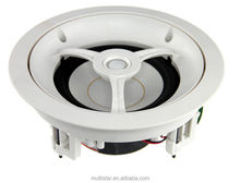 Hifi 6.5 Inch Circular Popular Design Indoor Ceiling Subwoofer Super Bass Two Way Speaker Kits