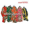2013 la moda árabe musulmán bufanda larga