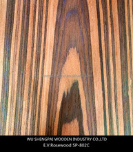 cheap high quality sliced cut wood veneer for wooden decoration recon rosewood sheets