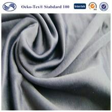 Popular nylon polyamide spandex yarn dyed stripes fabric for underwear sportswear
