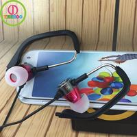 sport design ear hook mobile phone earphone for samsung
