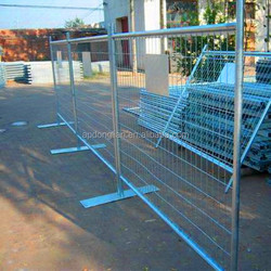 Cheap galvanized free standing portable temporary fencing for dogs/Garden