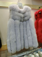 Noble design and hot selling Fox Fur Coat