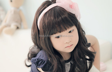 Wholesale Cheap Kids Synthetic Hair Wigs sweety little girl wavy wigs with 2 colors