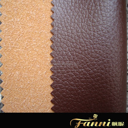artifical custom pu sofa leather/sofa bed leather fabric/leather materials for sofa cover