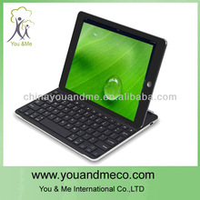Wireless Bluetooth Aluminum Keyboard Stand Shell Cover Case Base for iPad Mini
