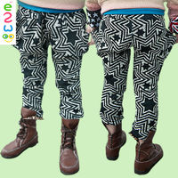 Fashion Design Balloon Pants For Kids 100% Cotton Pants For Boys