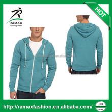 Ramax Custom Men Plain Fleece Hoodies