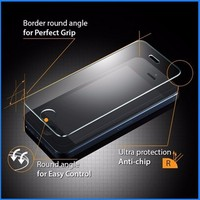 China factory 0.33mm 9h transparent glass touch screen protector for Iphone5/5C/5S