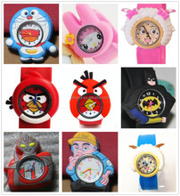 Costomed Silicone Wristband Watch Promotional Watch for Gift and Children