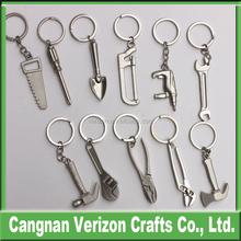 Promotional gifts pretty tools shaped metal keychain