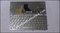 Hot sale replacement English laptop keyboard for Toshiba NB200 notebook keyboard US layout silver