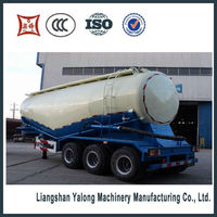 widely used particle material transport semi trailer/bulk cement trailer for sale