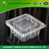 OEM service supply type PET disposable plastic containers for foods