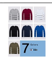 2015 Newest Spring Summer Brand Quick Dry Long Sleeve Pattern Dri Fit T Shirt