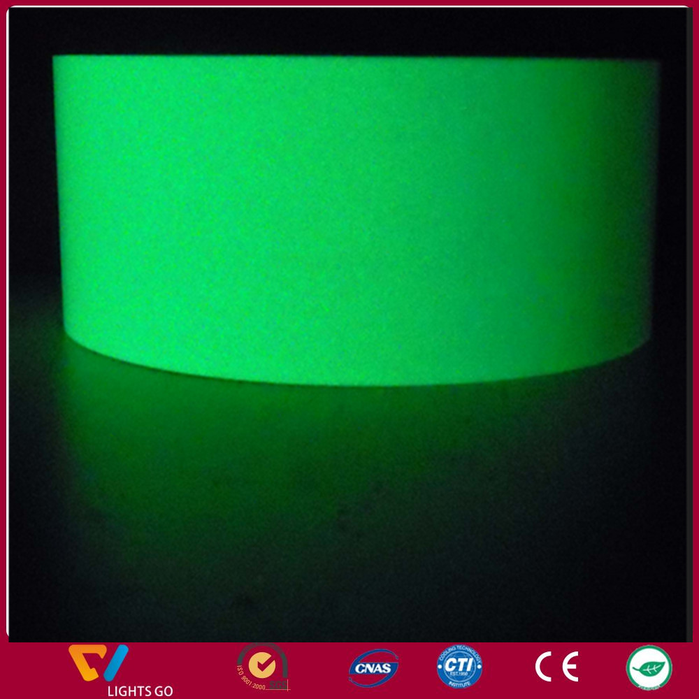 luminous fluorescent glow in the dark fabric for bags