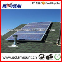 good quality slate roof aluminum solar panel roof mount