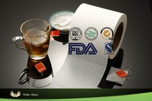 Heat seal Tea Bag Filter Paper in roll