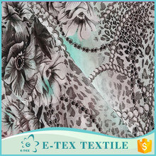 Professional manufacture Latest design Super Chiffon fabric lady dress fabric