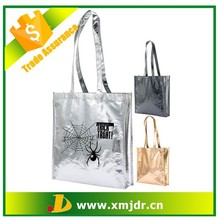 Fashion Silver Metallic Laminated Non Woven Bags
