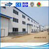 steel structure and insulation sandwich panel and corrugated sheet do the prefabricated building for construction