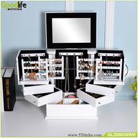 Goodlife Modern wooden art craft makeup box wholesale
