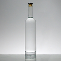 Spirits Glass Packaging Factory Sell Super Flint Vodka Bottle