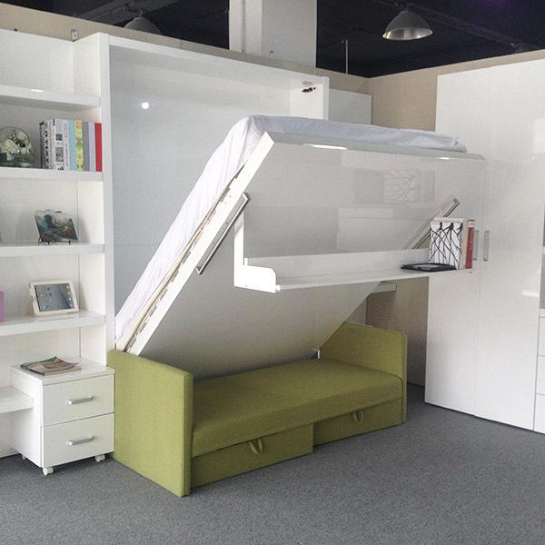 Modern saving space furniture wall bed sofa bed hidden wall bed space saving furniture buy - Innovative furniture space saving ...