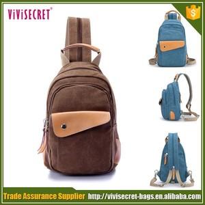 Vivisecret мода тенденция отдых на природе пользовательские холст рюкзак